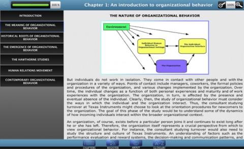 Organizational Behavior Mac App