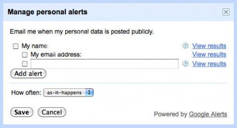 Google Seart Alerts