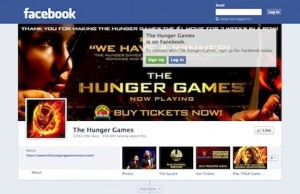 The Hunger Games Facebook