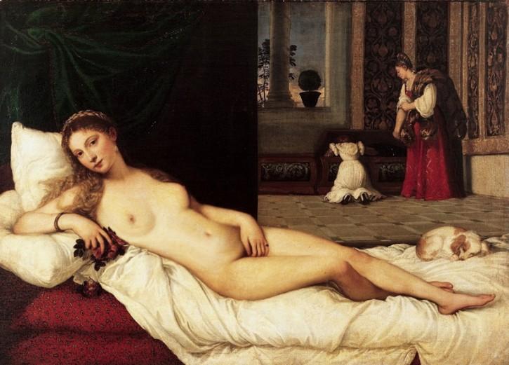 Venere Di Urbino Photoshopped