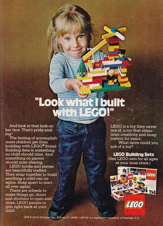 Lego For Girls Old